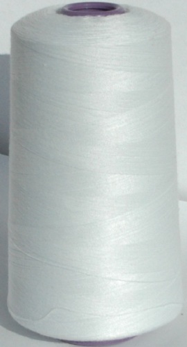Sewing Machine  & Overlocker Thread - White
